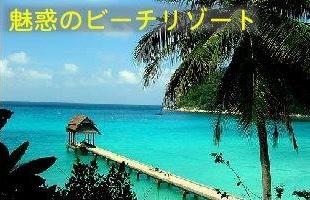 魅惑のビーチリゾート