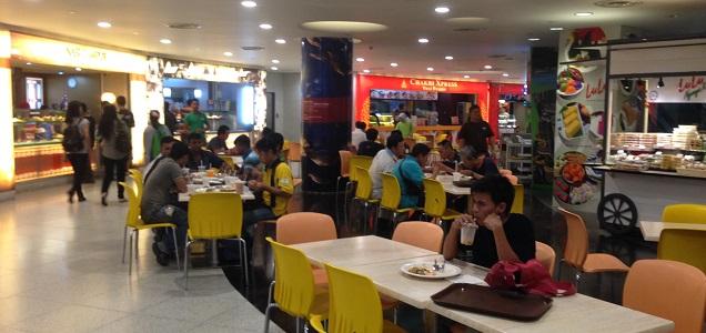 suria klcc food court malaysia