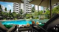 2. The poolside of Shangri-La Hotel, Kuala Lumpur
