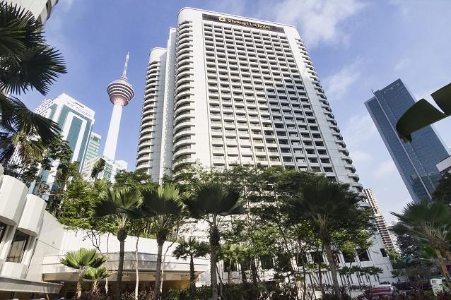 6. Exterior of Shangri-La Hotel, Kuala Lumpur