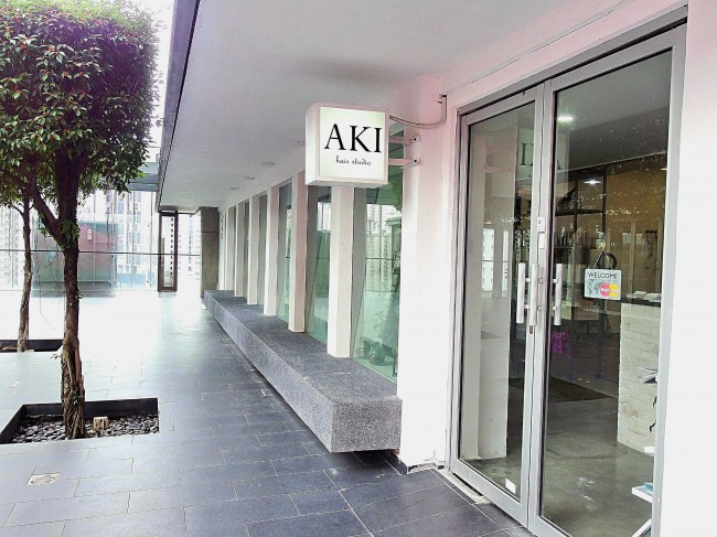 Aki Hair studio外観