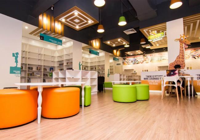 マレーシアのJaya Oneにある公共図書館