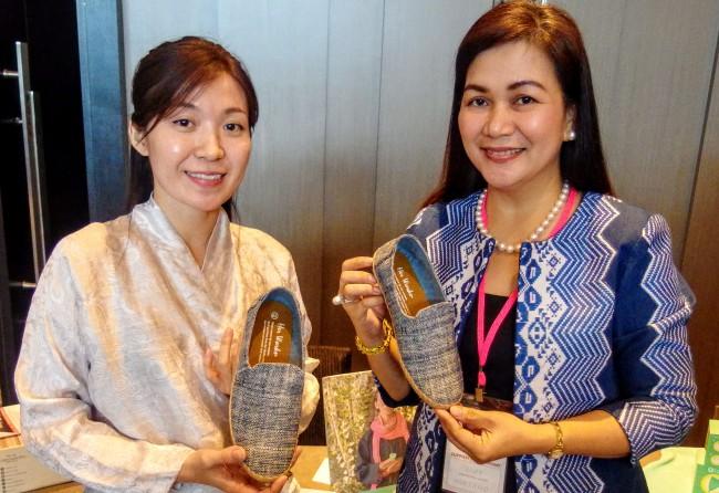 日ASEAN女性起業家リンケージプログラム(AJWELP)のプレゼンター