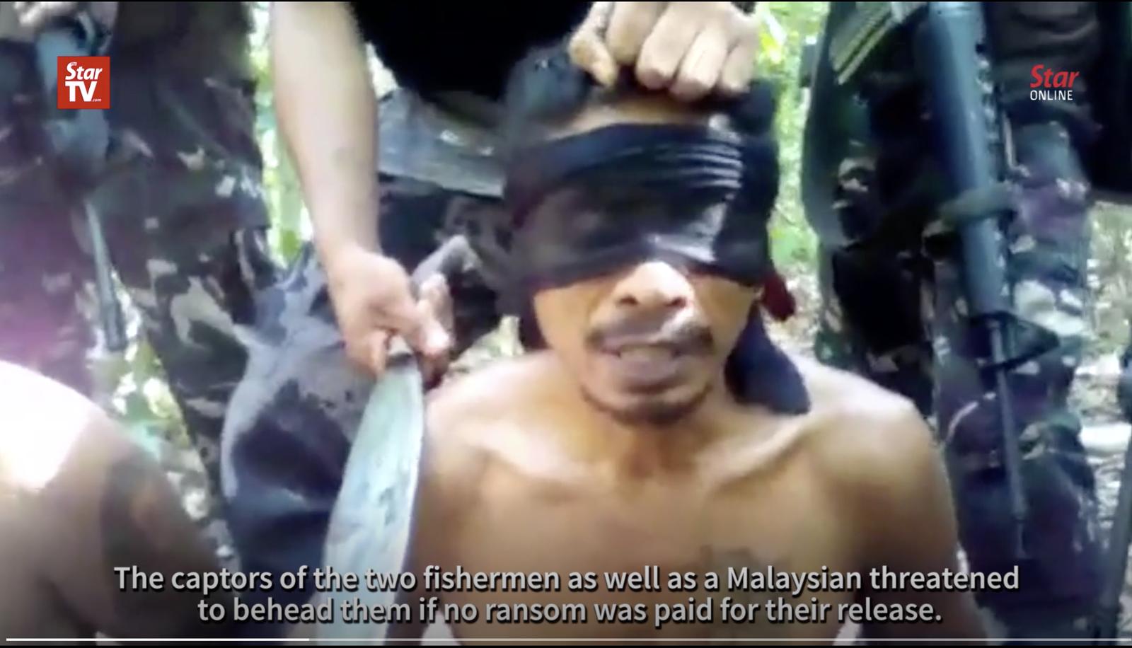 サバ州沖で誘拐されたインドネシア人