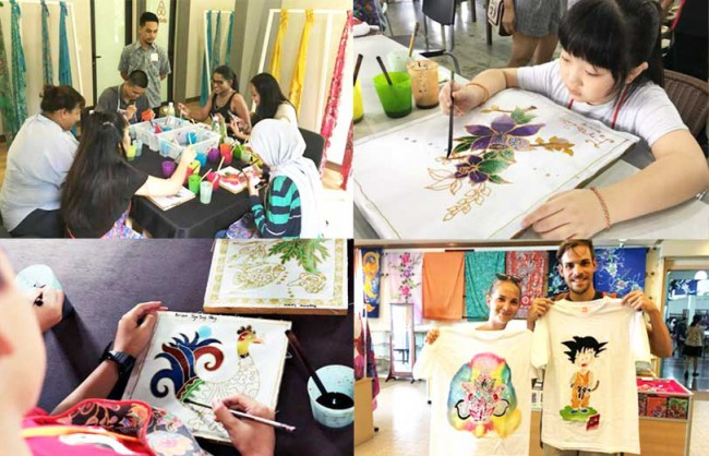 ジャディ・バティック・センターJadi Batik Centreのバティック体験