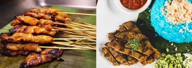 Songket Restaurant マレーシアの伝統舞踊も楽しめるレストラン、ソンケットの料理