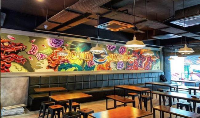 マレーシアの人気ハンバーガー店、myBurgerLab バンサー店