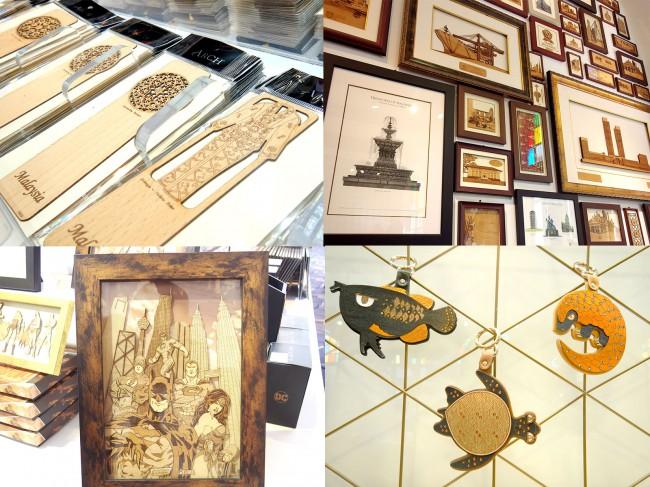 Archブランドの木工製品はお土産としても人気
