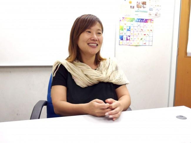 A to Z Language Centreの西尾亜希子先生