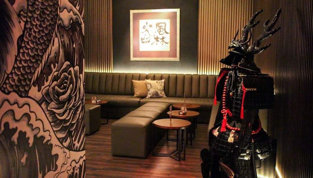 クアラルンプールのバーKenshin Barの内装