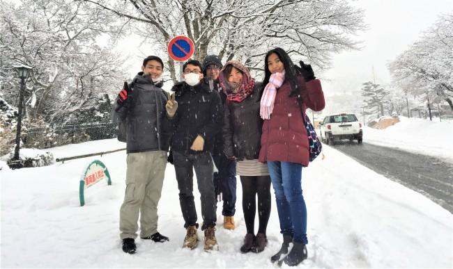 A to Z Language Centre マレーシアの学生を連れての日本ツアー