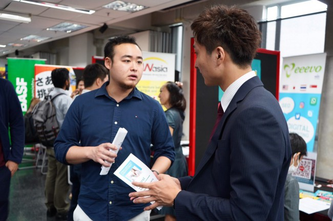 日本人留学生組織JSAMが主催する「就活フェア in マレーシア'19」