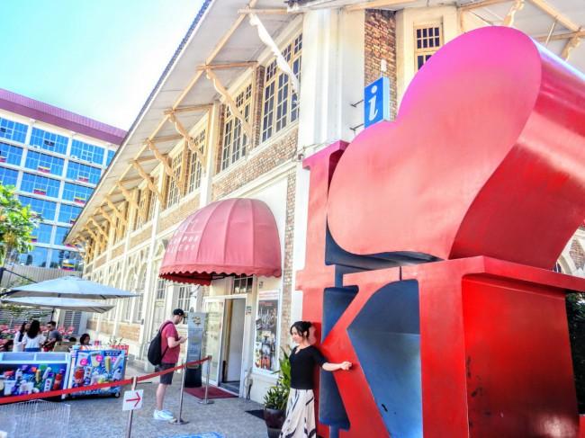 I Love KLのモニュメントが有名なクアラルンプールシティギャラリー Kuala Lumpur City Gellary