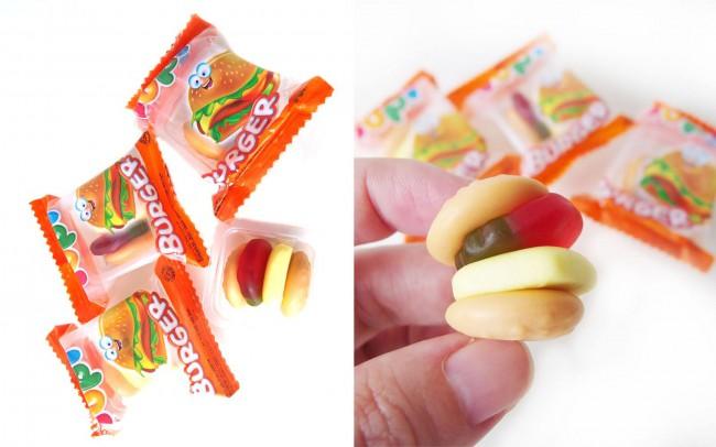 マレーシアのスナック菓子 Burgerグミ