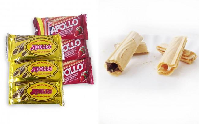 マレーシアのスナック菓子 APOLLO