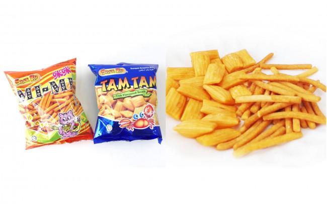 マレーシアのスナック菓子 MiMI TamTam