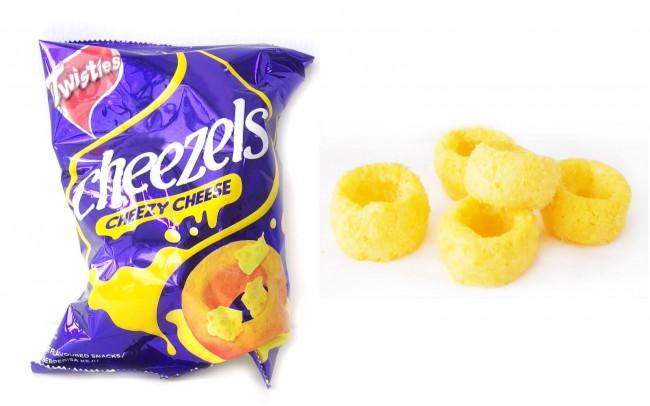 マレーシアのスナック菓子 cheezels
