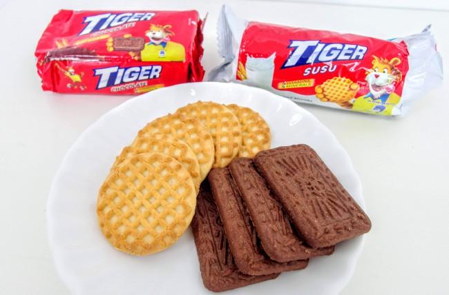 マレーシアのお菓子、TIGERビスケット