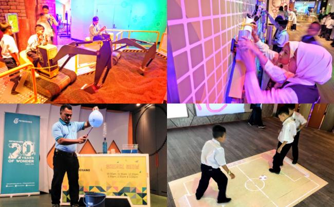ペトロサインス Petrosains マレーシアの科学博物館 トップ画像
