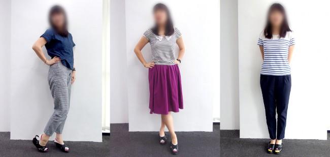 マレーシアのオフィスカジュアル30代女性