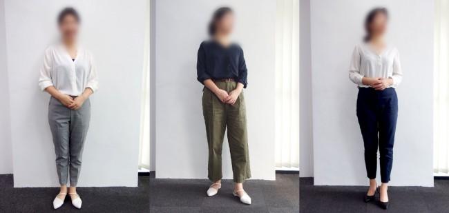 マレーシアのオフィスカジュアル20代女性