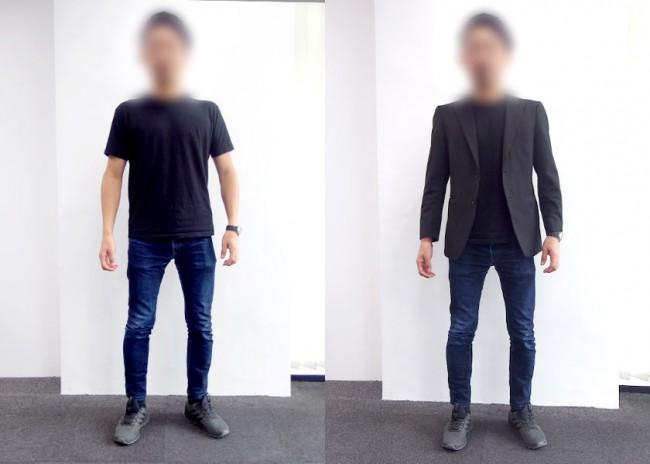 マレーシアのオフィスカジュアル30代男性