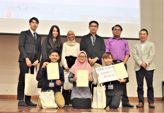 第4回日本語ビジネスプレゼンテーションコンテスト大学生の部(マレーシア)開催