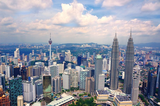 クアラルンプールのビル群 Kuala Lumpur