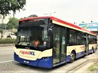 クアラルンプールの公共バス-Rapid KL