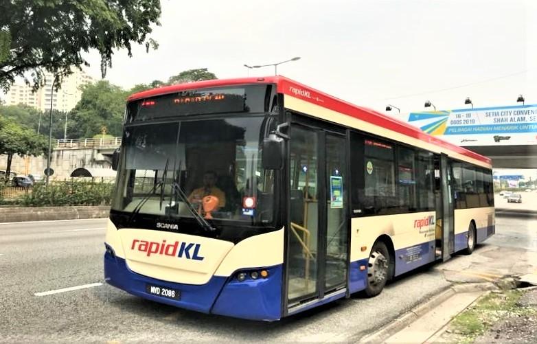 Rapid KL クアラルンプールを走る公共バス