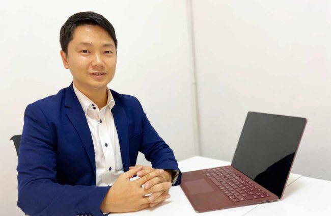 タイのバンコクを拠点とするNayoo Group Co.,Ltd.代表の田端雄介さん